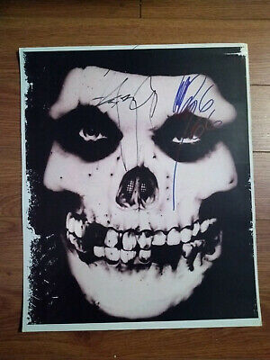 Misfits signed Poster by Jerry Only & Glenn Danzig