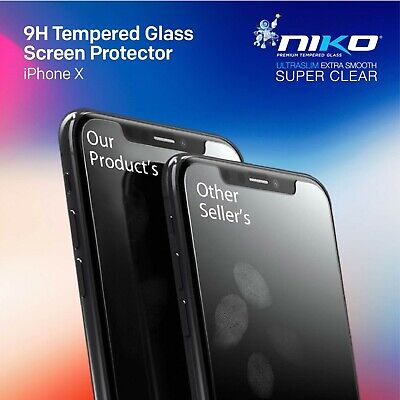 2X Tempered Glass Screen Protector Apple iPhone 11 Pro X XR XS Max 6 7 8 Plus 9H