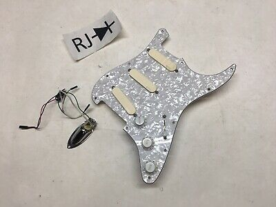 EMG SA David Gilmore DG20 Loaded Alnico Stratocaster Pickguard Pick Guard Plate