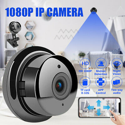 1080P HD Wireless IP Camera Monitor Security Video WIFI IR Cloud Storage TF Card