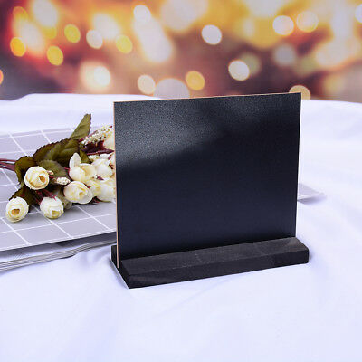 Table top blackboard & stand menu notice display mini chalk board home I_gu