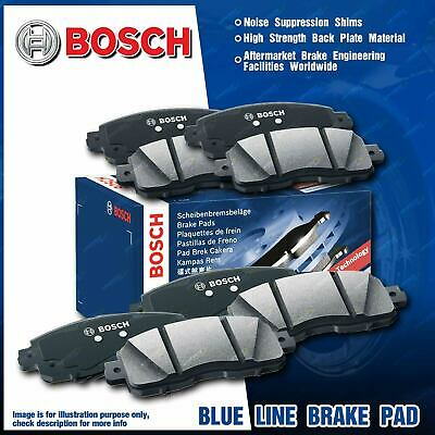 8 Pcs Bosch F + R Disc Brake Pads for Mitsubishi Lancer CH CJ CY Outlander ZE ZF