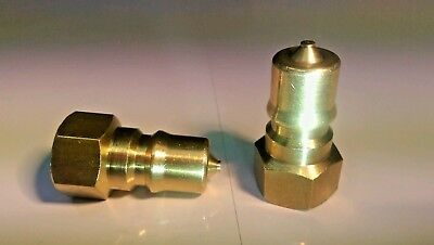 2 x Hose Connectors Couplings for Carpet Cleaning machine with VITON SEALS