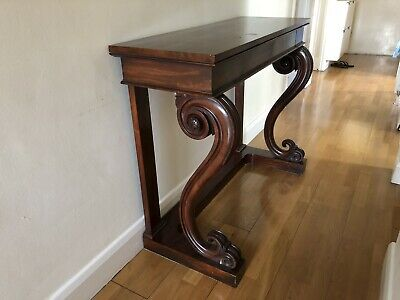 Antique Victorian Mahogany Sideboard Or Table