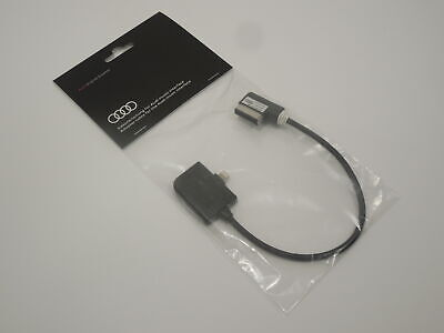 Genuine Audi AMI Lightning Cable for iPhone Devices 4F0051510AC