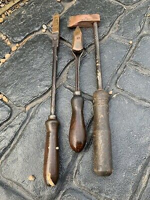 Garage Workshop Barn Find  Job lot of Vintage copper tipped soldering irons