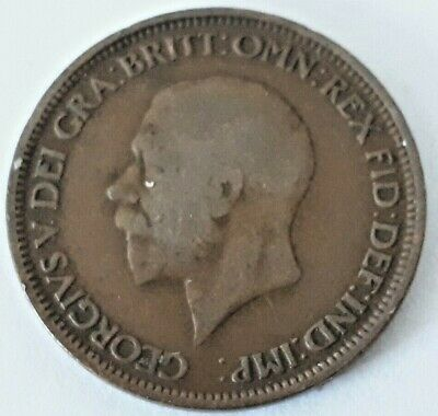 1910-1936 George V. Half Penny - Choose your year