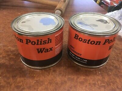 2 Cans Wax Polish
