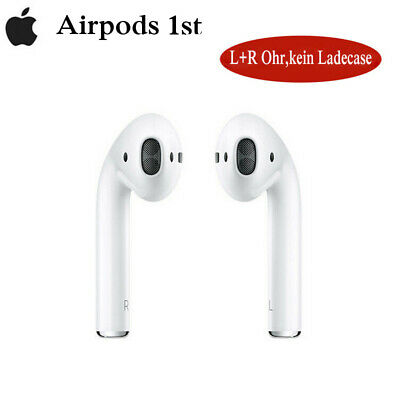 Apple AirPods (1st Generation) In-Ear Headset Kabellos Bluetooth Kopfhörer L+R