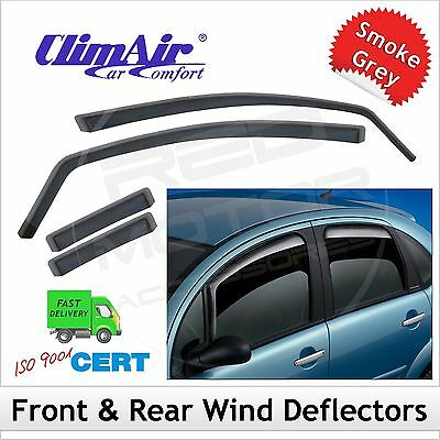 CLIMAIR Car Wind Deflectors Suzuki Baleno 2016 onwards SET (4) NEW