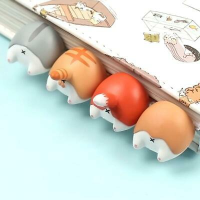 1PC Cute Animal Ass Bookmarks Creative Cat Dog Book Marks For Kids Girls Gift Of