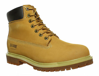 Magnum Mens Foreman Wheat Work & Safety Boots Size 11.5