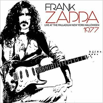 frank zappa: live at the palladium new york halloween 1977                    CD