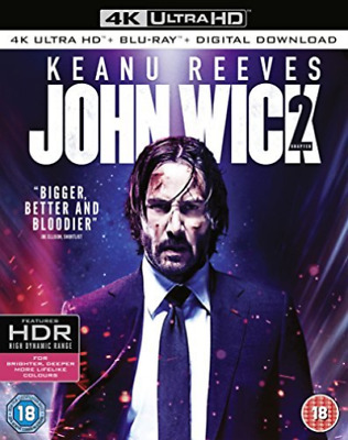 John Wick Chapter 2 DVD NUOVO