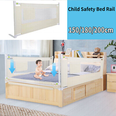 Folding Toddler Child Kid Bed Safety Guard  Baby Bed Rail Protection 150/180cm