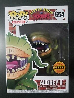 Funko Pop CHASE Limited Edition Audrey #654 Little Shop of Horrors  New Rare