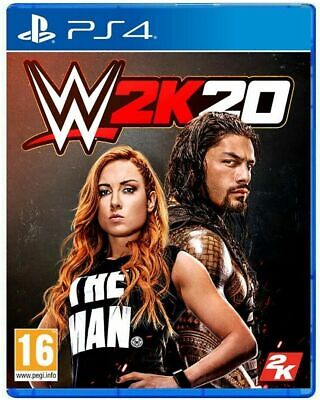 Wwe 2K20 Day One Edition Ps4 Italiano Videogioco Wrestling 2020 Playstation 4