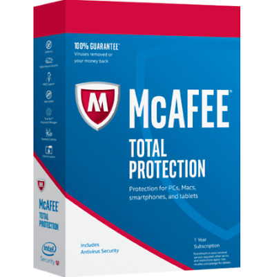 McAfee Total Protection 2019  1 Device 1 PC 5Year License official Key