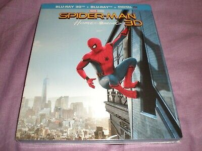 Spider Man Homecoming Blu Ray 3D + Blu Ray Neuf Sous Blister