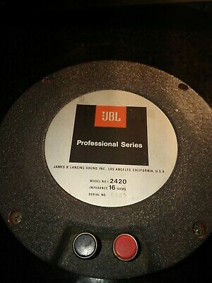 JBL Model 2420 16ohm Compression Driver