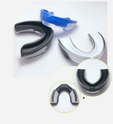 Shockproof Sports Mouth Guard Teeth & Gum Shield for MMA Boxing Rugby K7T1X