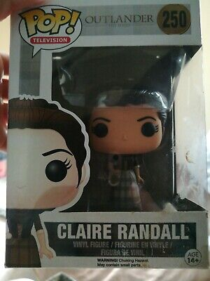 FUNKO 2015 POP TELEVISION OUTLANDER CLAIR RANDALL #250 Vinyl Figure IN STOCK