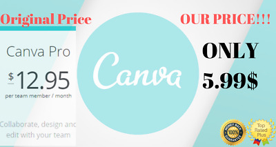 🔥 Canva Pro Account 1month Premium 100% PERSONAL💯 Positive 🌐WWide 🚀Delivery