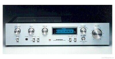 For sale Vintage Pioneer Blue Line Amplifier SA-610