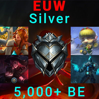 LoL Account League of Legends Acc EUW Silver | Pajama Guardian Miss Fortune MF