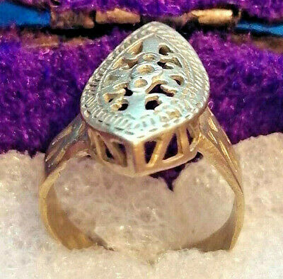 Ancient Medieval Bronze Ring Vintage Museum Quality Very Stunning Wonderful
