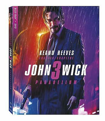 John Wick: Chapter 3 - Parabellum ( Blu-ray/DVD ) with Slipcover