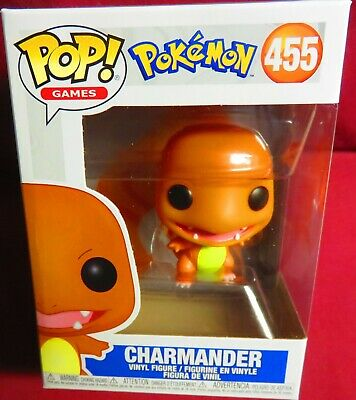 "Brand New Pop Games, From  ""Pokemon"", #455, Charmander,    In Hand"