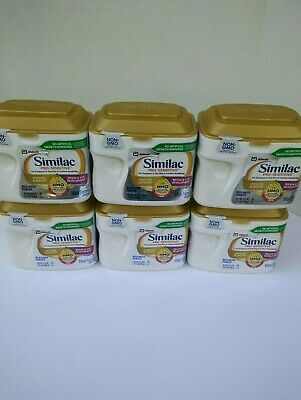 (6)Similac Pro Sensitive Formula Powder 22.5oz. Exp: 09/2020