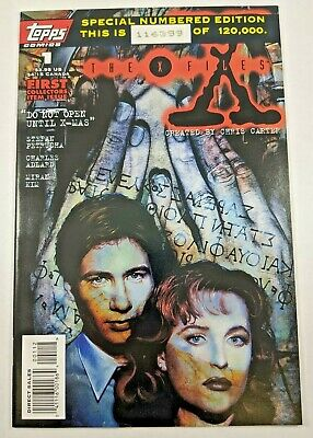 THE X-FILES #2 VF NM 1995 SPECIAL NUMBERED EDITION VARIANT TOPPS COMICS