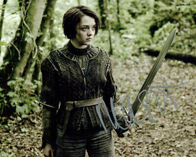 Maisie Williams (Game of Thrones) signed 8x10 photo