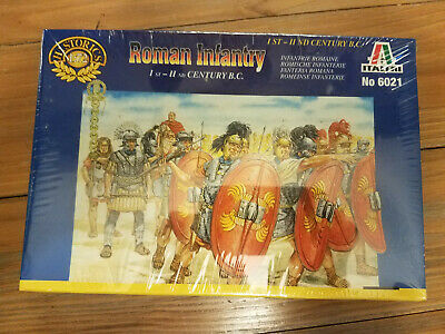Roman Infantry 1st - 2nd Century BC Italeri 1/72 Sealed 6021