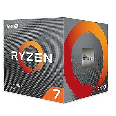 NEW! Amd Ryzen 7 3700X With Wraith Prism Cooler 3.6Ghz 8 Core Am4 Overclockable