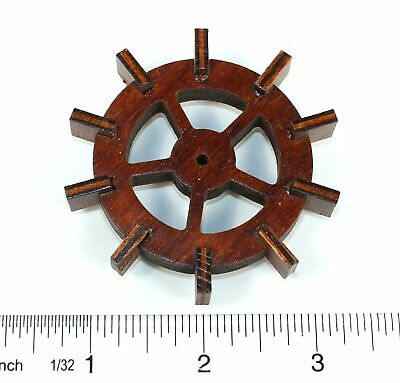 Musical Cuckoo Clock Water Wheel - German Vintage - Zz369