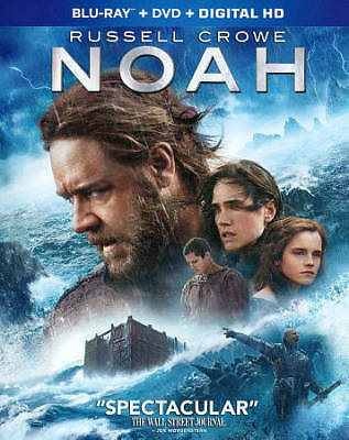 Noah (Blu-ray/DVD, 2014, 2-Disc Set) BRAND NEW SEALED
