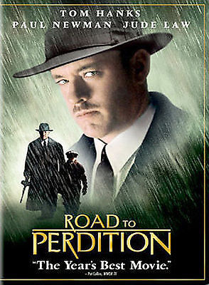 Road to Perdition (DVD, 2003, Full Frame) VERY GOOD