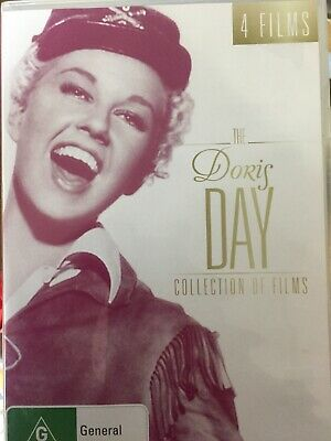 THE DORIS DAY - Collection Of Films 4 x DVD Set AS NEW! Calamity Jane
