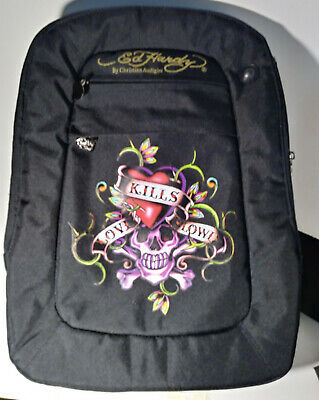 Ed Hardy Bruce backpack new Genuine