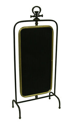 Scratch & Dent Double Sided Rotating Framed Standing Chalkboard 35 Inch