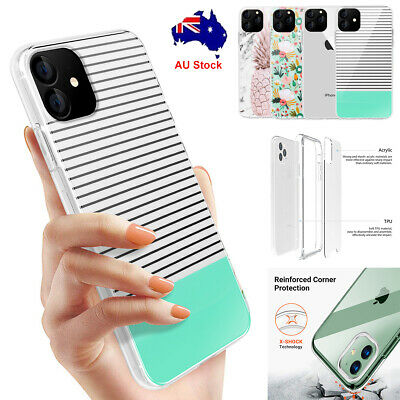 For iPhone 11 Pro Max 2019 Ultra thin Case Clear Bumper Shockproof Hybrid Cover