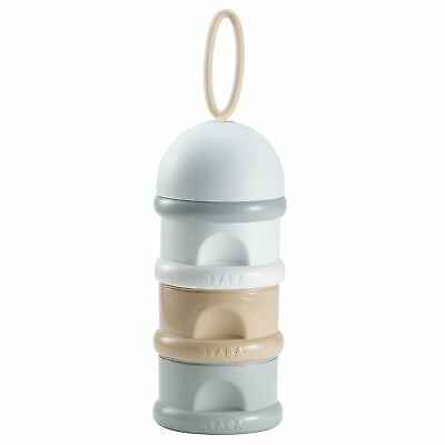 Beaba Stackable Baby Food Formula Containers - 3 Pots - Nude