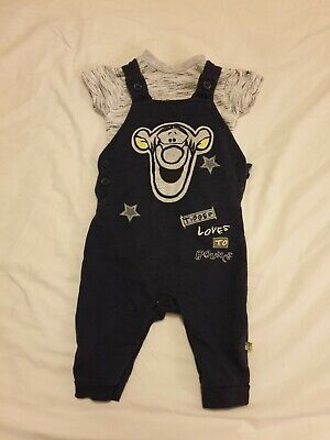 Baby Boy Outfit 3-6 Months Primark Disney Tigger dungarees