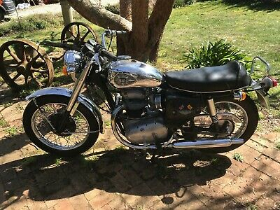 1967 BSA A65L Lightning Motorcycle - NO RESERVE
