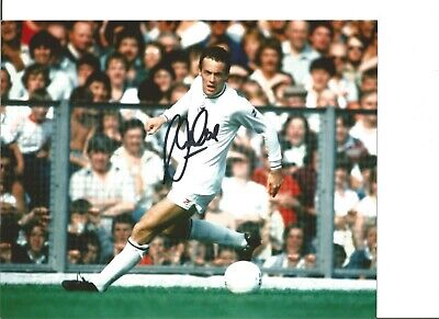 Footballer Autograph Alan Curtis Swansea City Signed 10x8 inch Photograph JM113