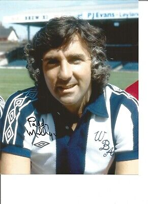 Football Autograph Paddy Mulligan West Bromwich Albion Signed 10x8 Photo JM149
