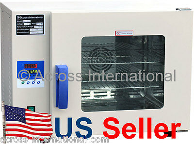 """0.5 Cu Ft 400°F 10x9x10"""" WxDxH Desktop Digital Forced Air Convection Drying Oven"""